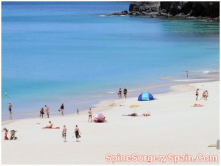 Beach in Morro Jable, Canary Island-Fuerteventura, Spain