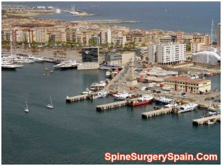 Port in Barcelona - Spain